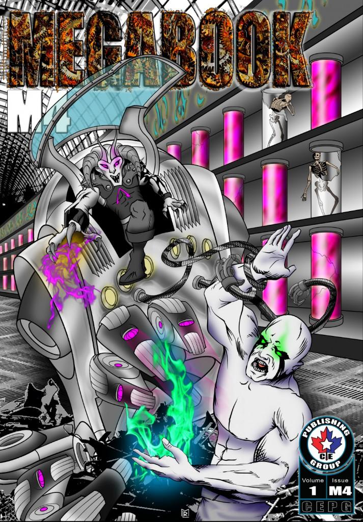Get MEGABOOK M4 Now at DriveThru Comics!
