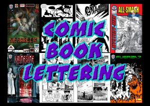 Comic Book Lettering